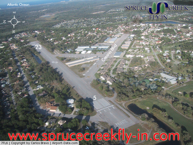 Spruce Creek Airport (7FL6) - Spruce Creek Airport