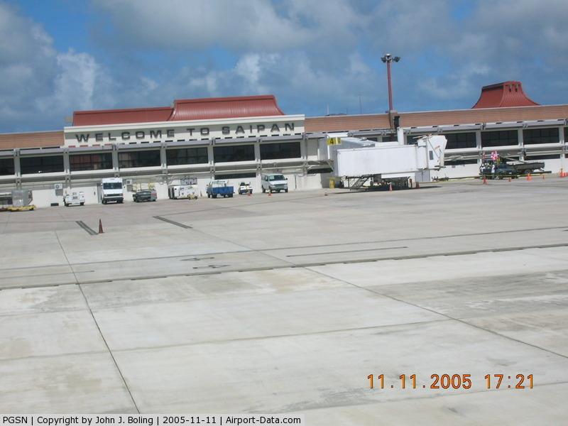 Saipan International Airport (Francisco C. Ada), Saipan Island Northern Mariana Islands (PGSN) - Main Terminal at Saipan
