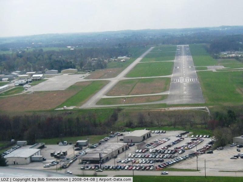 London-corbin Arpt-magee Fld Airport (LOZ) - Final approach - 24