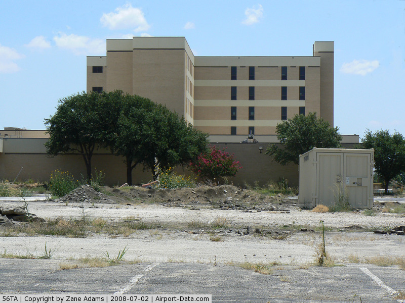 Dallas/fort Worth Medical Center Heliport (56TA) - Dallas/fort Worth Medical Center Heliport - This hospital is closed. The helipad is no longer marked or flagged.