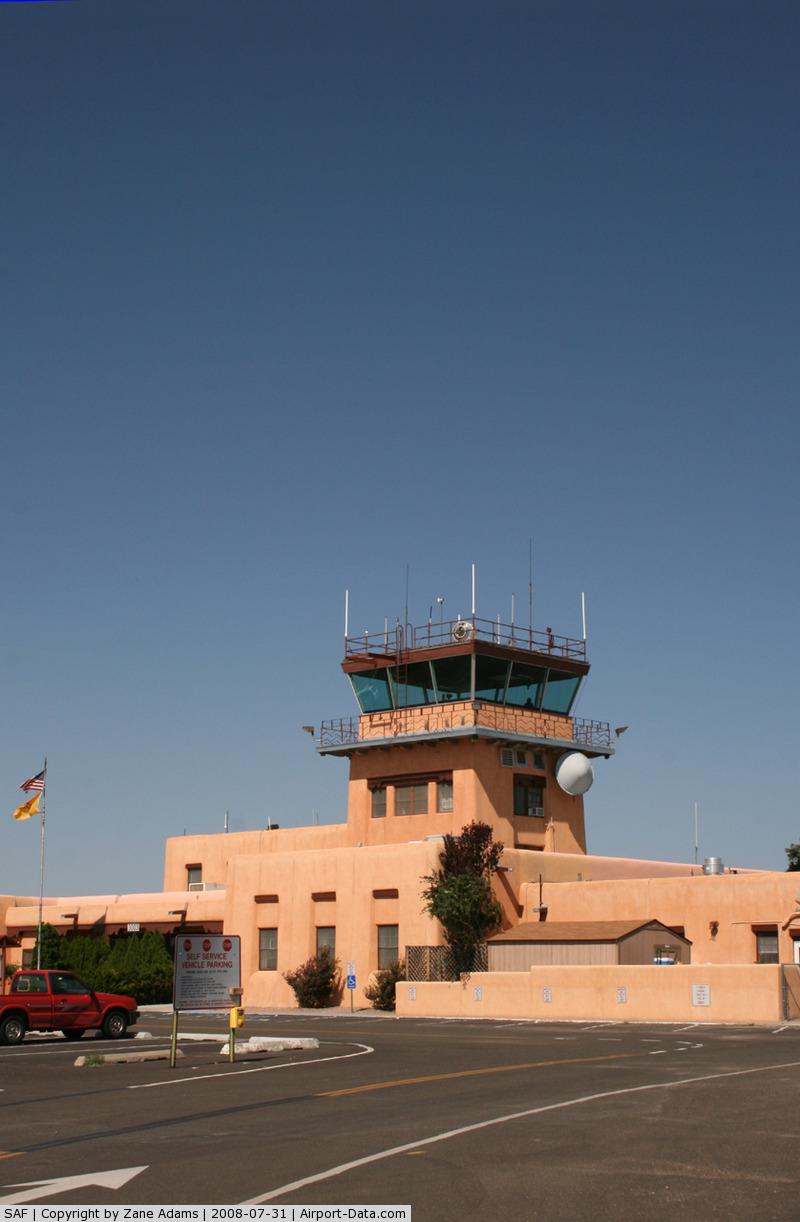 Santa Fe Municipal Airport (SAF) - Santa Fe Municipal  - Terminal Building and Tower built in the