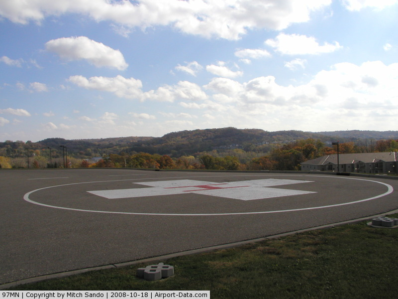 Fairview Red Wing Medical Center Heliport (97MN) - Fairview-Red Wing Medical Center in Red Wing, MN.