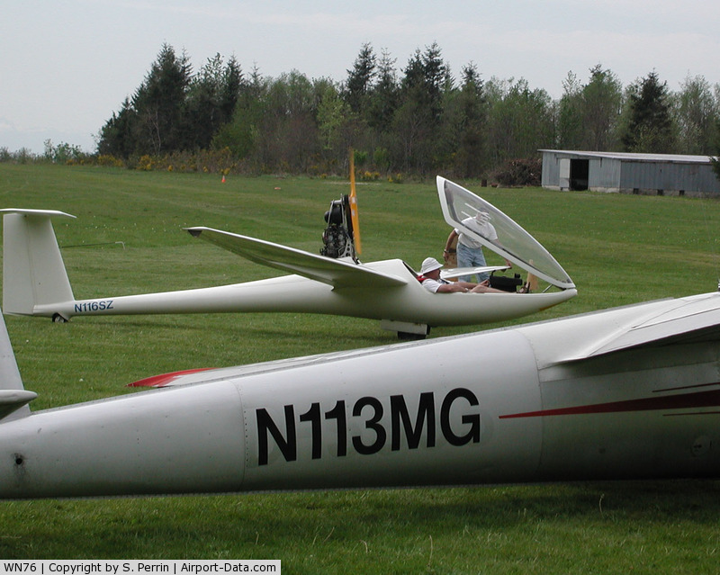Bergseth Field Airport (WN76) - Bergseth field Glider Operations