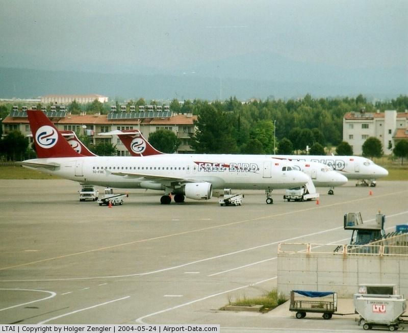 Antalya Airport, Antalya Turkey (LTAI) - Triple Free Bird