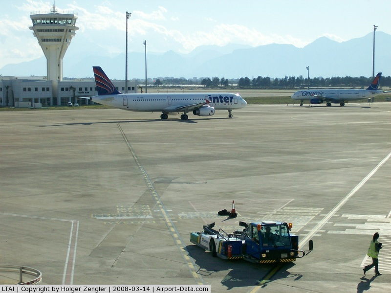 Antalya Airport, Antalya Turkey (LTAI) - An afternoon at Antalya airport