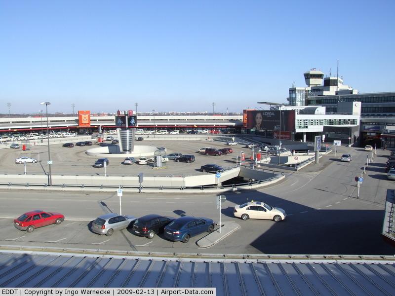Tegel International Airport (closing in 2011), Berlin Germany (EDDT) - Berlin Tegel, looking inside the hexagonal terminal