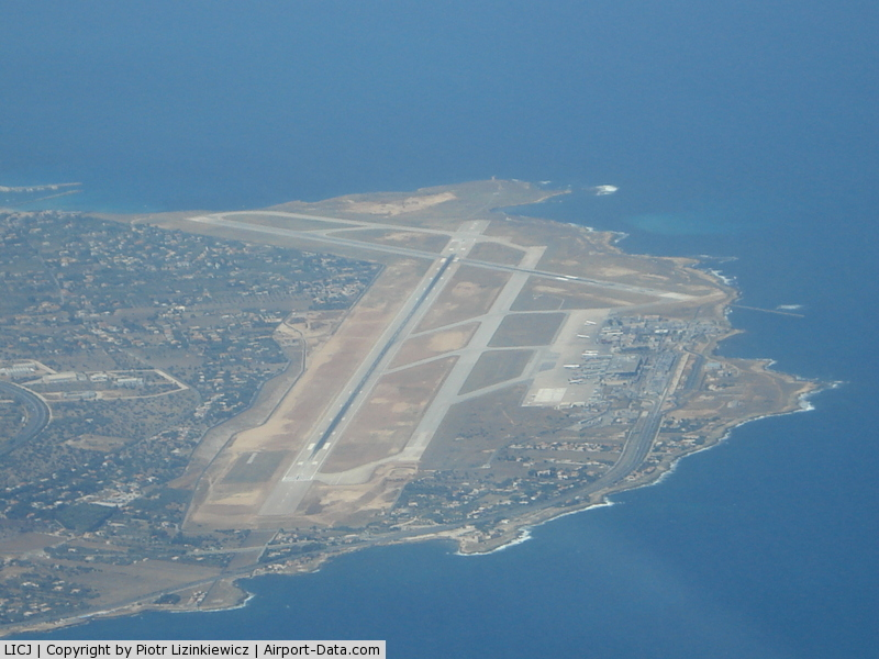 Palermo International Airport (Punta Raisi Falcone-Borsellino Airport), Palermo / Punta Raisi Italy (LICJ) - fl 75