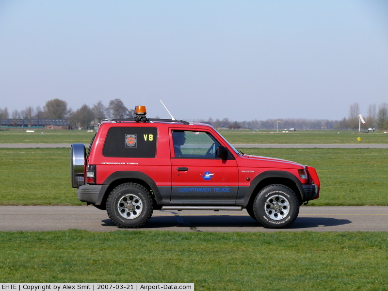 Teuge International Airport, Deventer Netherlands (EHTE) - Pajero of the CinC of the Teuge firedepartment