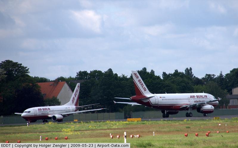 Tegel International Airport (closing in 2011), Berlin Germany (EDDT) - One for Nuremburg and one for Saarbrucken