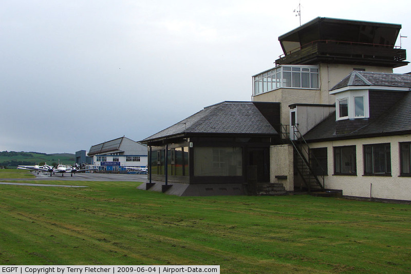 Perth United Kingdom  city photos gallery : Perth Airport Scotland , Perth, Scotland United Kingdom EGPT View ...