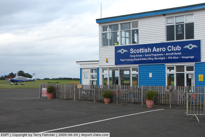 Perth United Kingdom  City pictures : Perth Airport Scotland , Perth, Scotland United Kingdom EGPT Photo