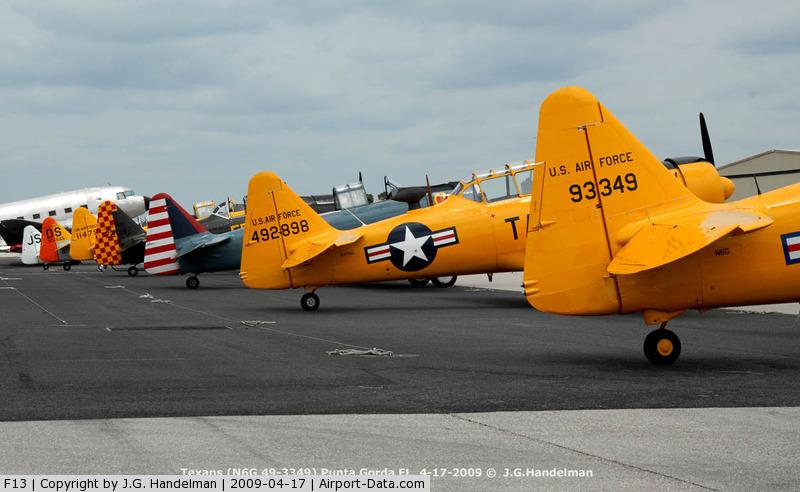 Shell Creek Airpark Airport (F13) - Texan tails at Punta Gorda
