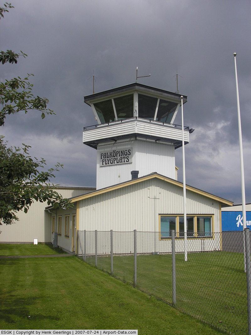 Falköping Airport, Falköping Sweden (ESGK) - Tower