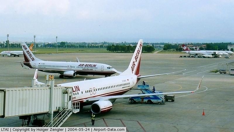 Antalya Airport, Antalya Turkey (LTAI) - View to the northern parts of AYT