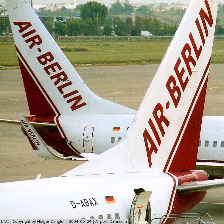 Antalya Airport, Antalya Turkey (LTAI) - For those who haven´t got it yet: AIR BERLIN