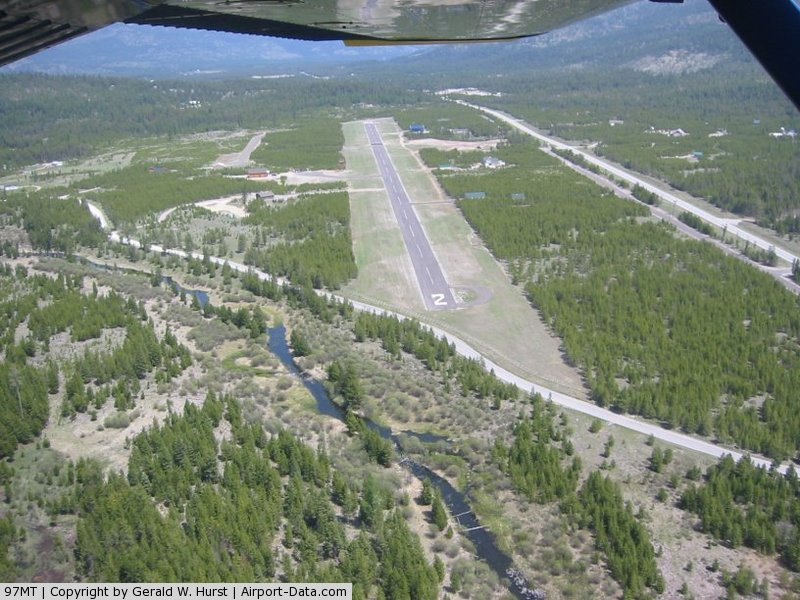 Cabin Creek Landing Airport (97MT) - Cabin Creek Landing