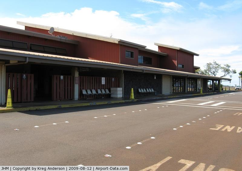 Kapalua Airport (JHM) - Kapalua Airport's (JHM/PHJH) terminal building.
