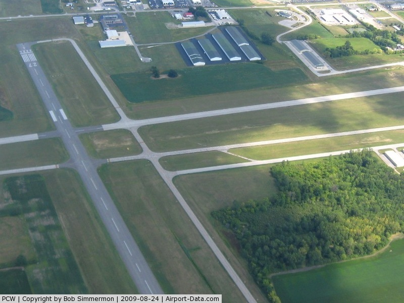 Carl R Keller Field Airport (PCW) - Looking east