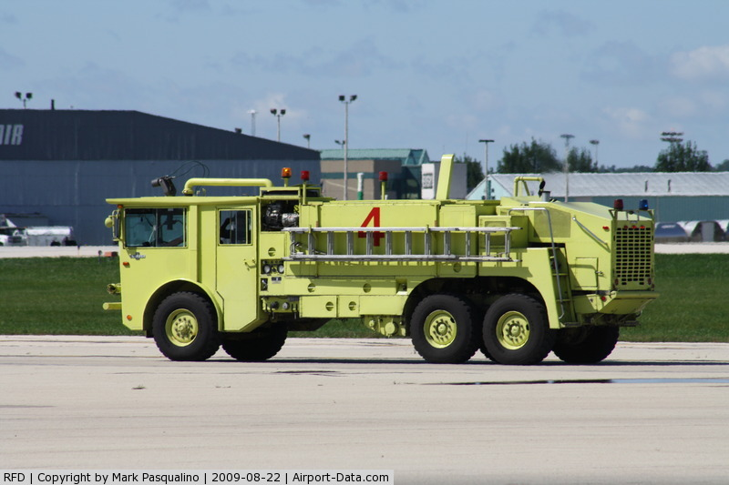 Chicago/rockford International Airport (RFD) - Fire/crash Rescue