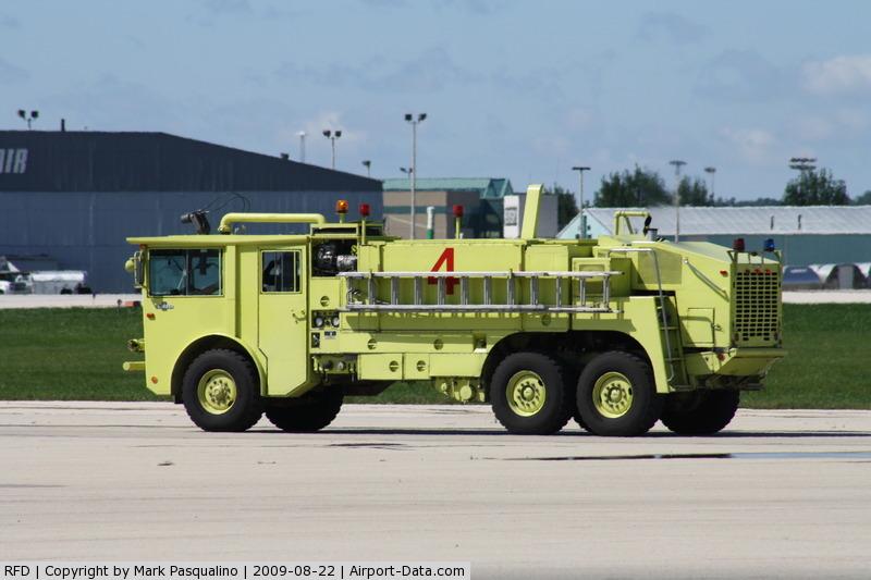 Chicago/rockford International Airport (RFD) - Fire/crash Rescue