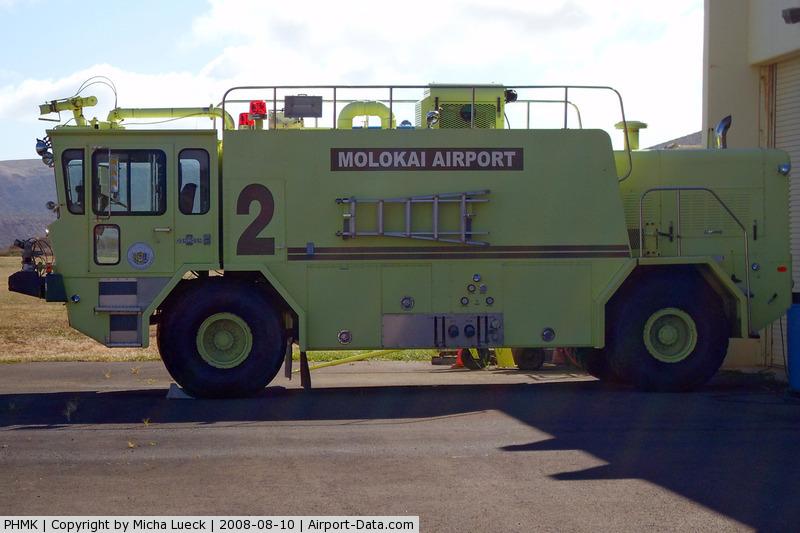 Molokai Airport, Kaunakakai, Hawaii United States (PHMK) - At Molokai, HI