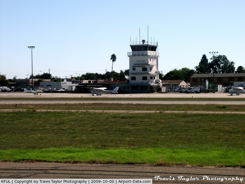 Fullerton Municipal Airport (FUL) - Tower Taken from Northern Hangars