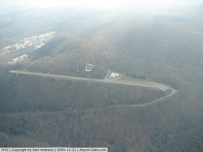 Hill Top Airport (JY43) - This looks like a nice airport for some guy to keep his