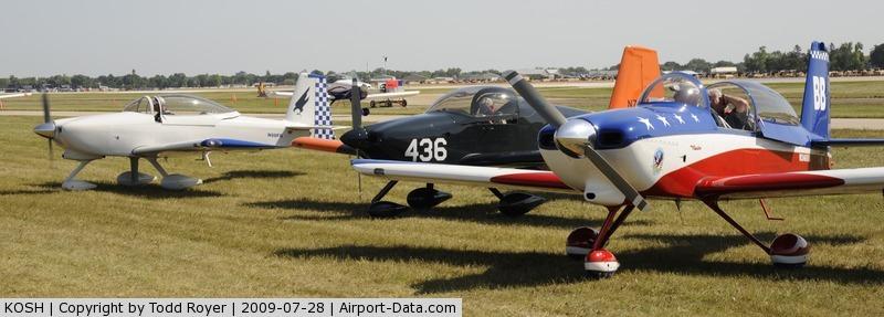 Wittman Regional Airport (OSH) - EAA AIRVENTURE 2009