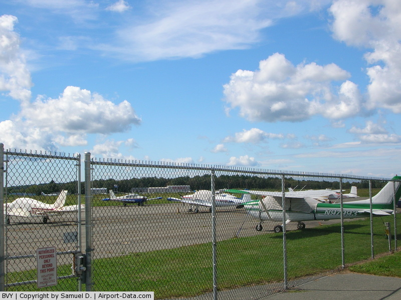 Beverly Municipal Airport (BVY) - Summer Day at Beverly.