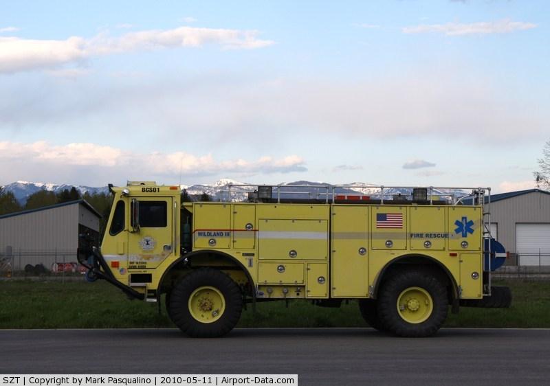 Sandpoint Airport (SZT) - Fire/ crash rescue