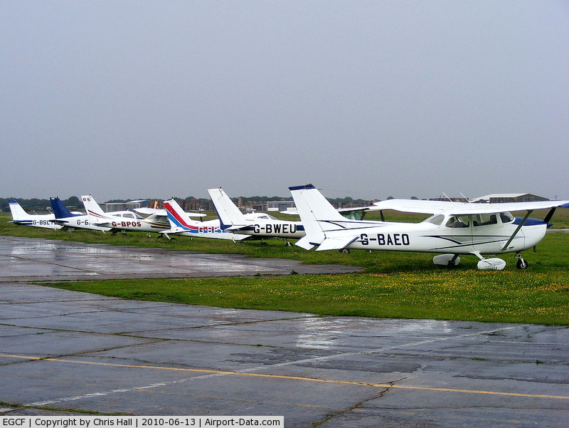 Sandtoft Airfield Airport, Scunthorpe, England United Kingdom (EGCF) - Sandtoft Airfield