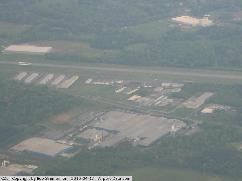 Tom B. David Fld Airport (CZL) - Looking west