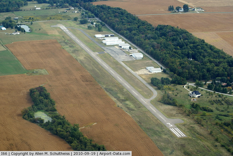 Clinton Field Airport (I66) - Looking Northeast