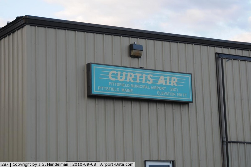 Pittsfield Municipal Airport (2B7) - out of the way Maine airport