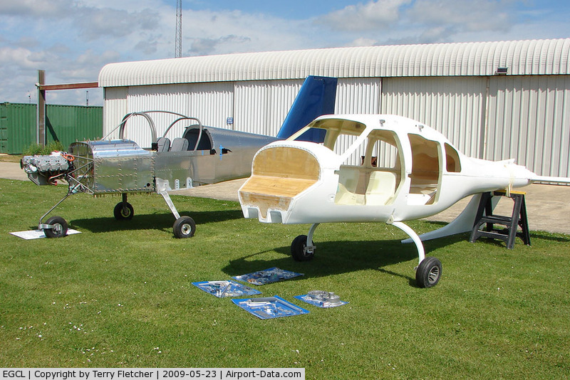 Fenland Airfield Airport, Spalding, England United Kingdom (EGCL) - Kit Builds with Jabiru 3300 Engines on display at 2009 May Fly-in at Fenland