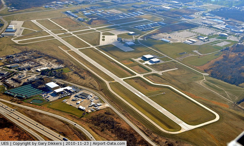 Waukesha County Airport (UES) - UES ~ NW looking SE