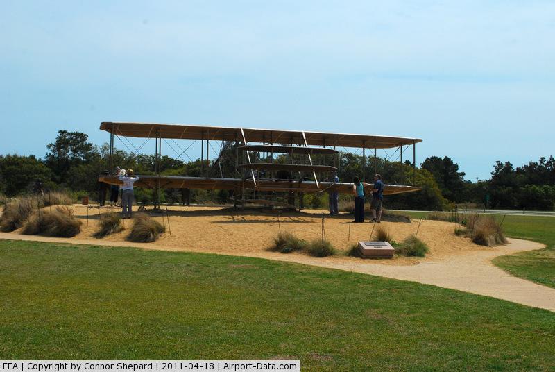 First Flight Airport (FFA) - Wright Flyer Replica