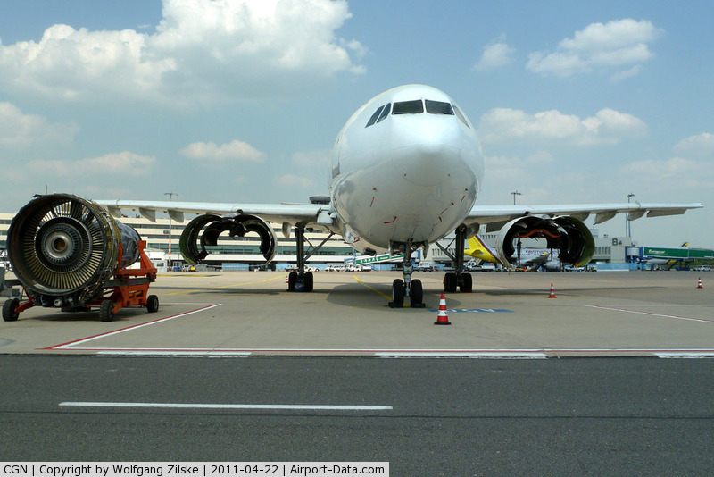 Cologne Bonn Airport, Cologne/Bonn Germany (CGN) - without engines