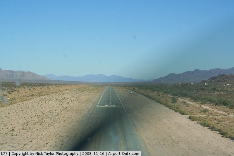 Chiriaco Summit Airport (L77) - RWY 6 approach