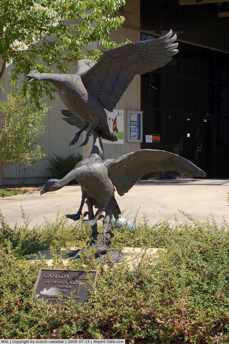 Wallops Flight Facility Airport (WAL) - Sculpture