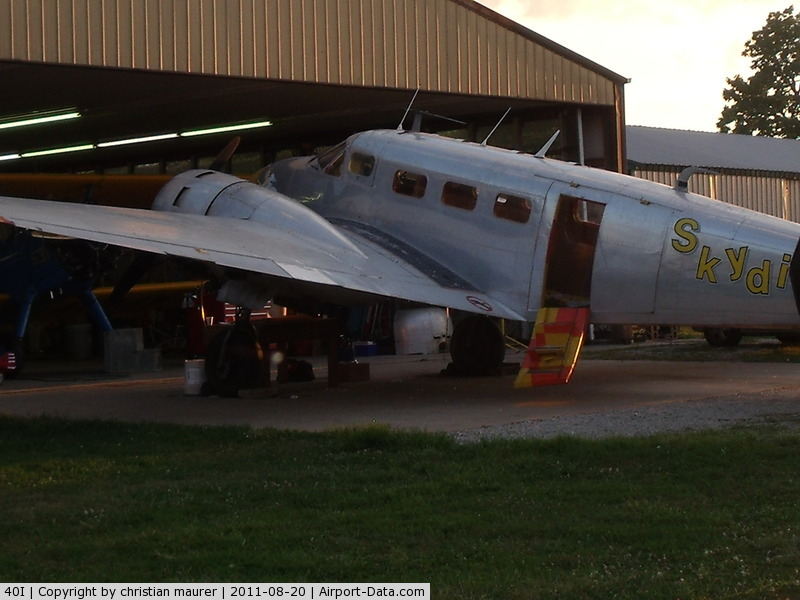 Red Stewart Airfield Airport (40I) - b18