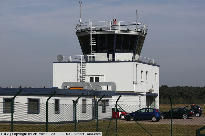 Weeze Germany  city photo : ... , Weeze Germany EDLV Tower of Weeze Airport, Germany, EDLV/ NRN
