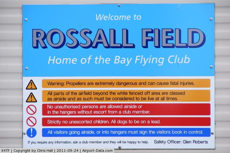 X4TF Airport - Rossall Field, Tarn Farm
