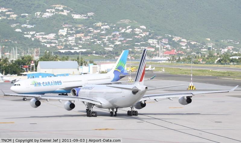 Princess Juliana International Airport, Philipsburg, Sint Maarten Netherlands Antilles (TNCM) - Big Boys at TNCM