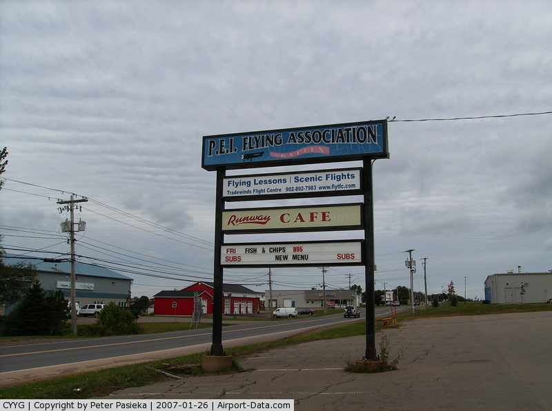 Charlottetown Airport, Charlottetown, Prince Edward Island Canada (CYYG) - Charlottetown Airport, PEI, Canada