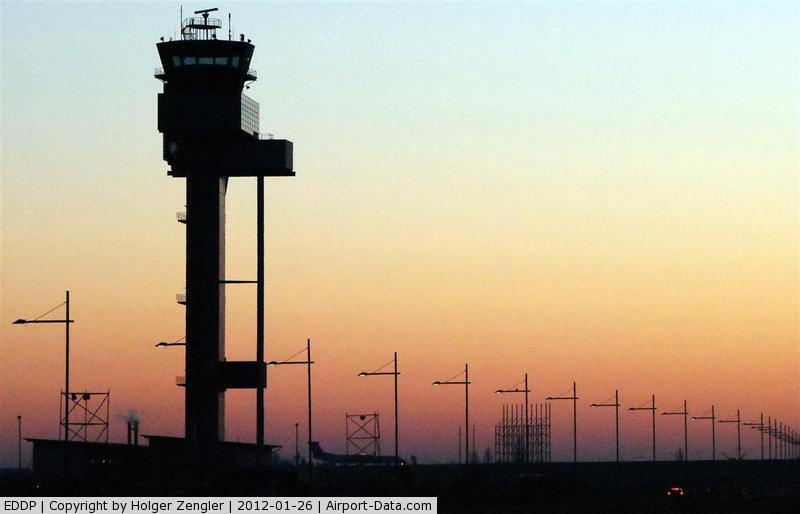 Leipzig/Halle Airport, Leipzig/Halle Germany (EDDP) - Morning impressions at Leipzig Tower..........
