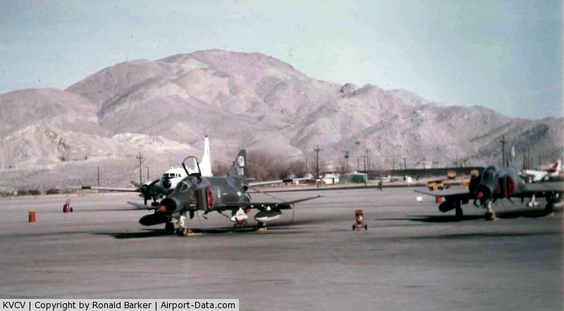Southern California Logistics Airport (VCV) - GAF F-4F Jan 1975