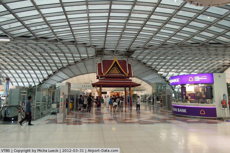 Suvarnabhumi Airport (New Bangkok International Airport), Samut Prakan (near Bangkok) Thailand (VTBS) - At Bangkok