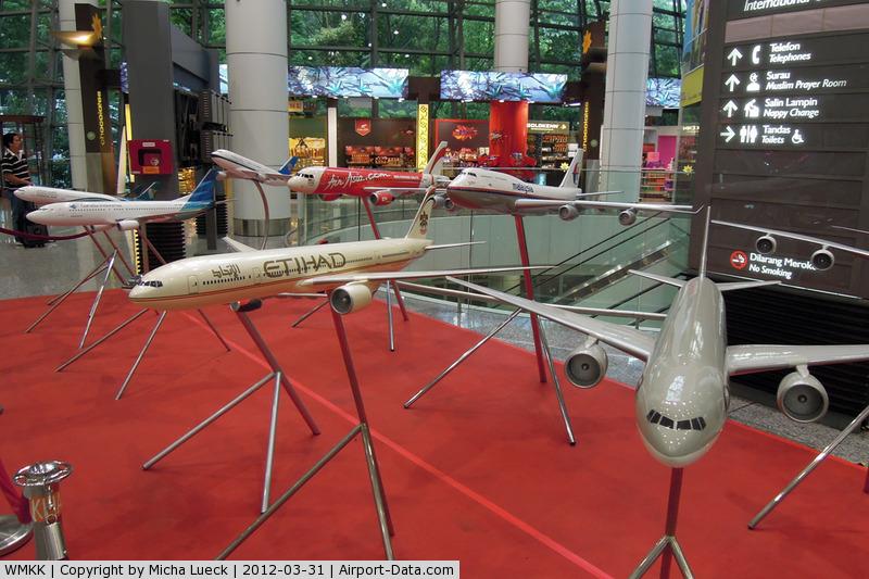 Kuala Lumpur International Airport, Sepang, Selangor Malaysia (WMKK) - At Kuala Lumpur