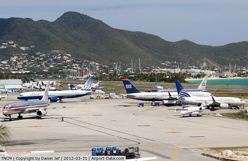 Princess Juliana International Airport, Philipsburg, Sint Maarten Netherlands Antilles (TNCM) - TNCM
